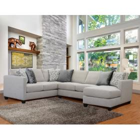 Omnia 3 Pc. Sectional Pewter