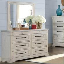 Trisha Yearwood 926 Coming Home Haven Eight Drawer Dresser with Jewelry Tray and Built-In Power Strip
