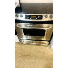 """Product Image - USED- GE® 30"""" Slide-In Electric Range with Self-Cleaning Oven- EGLSLIDESS-U   SERIAL #8"""