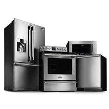 Frigidaire Professional 4 Piece Bundle with New Front Control Range