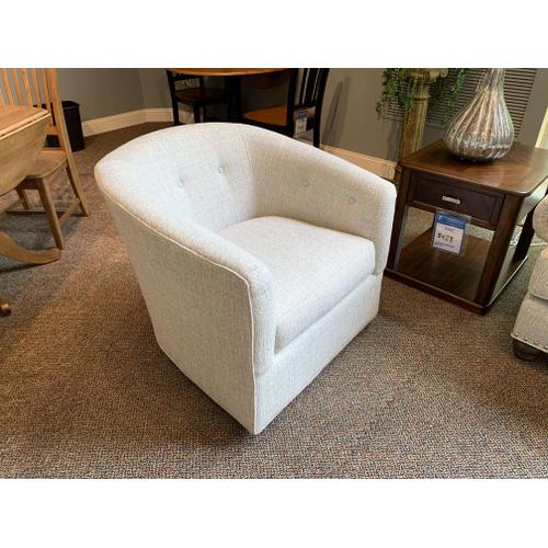 Swivel Bucket Accent Chair - Style 094110