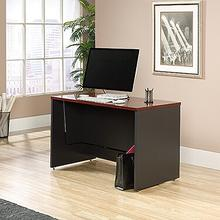 Sit/Stand Desk, Classic Cherry