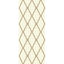 Deluxe Shag Trellis Ivory 8x11 Rug