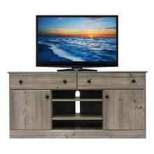 View Product - Weathered Gray Entertainment Stand- 60inch