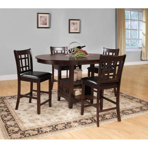 Packages - Junipero 5pc Counter Height Set
