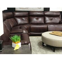 Karen 6pc Brown Leather Sectional