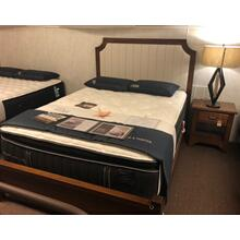 American Made Queen Bed and Nightstand.
