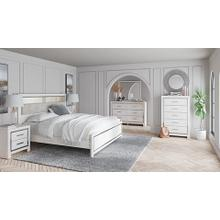 View Product - Altyra Qn Bookcase Bed, Chest, NIghtstand
