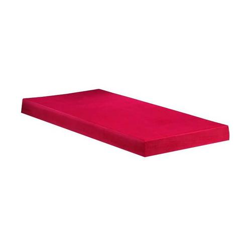 Easy Rest - Kidz-Pedic Memory Foam - Red Cover - 5""