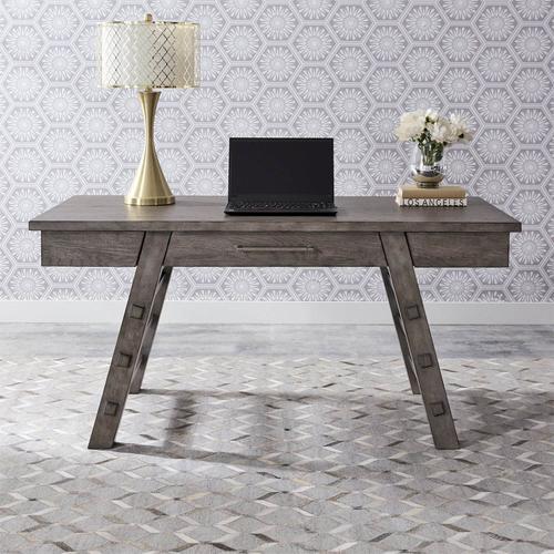 Modern Farmhouse Writing Desk Dusty Charcoal
