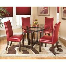 Round Dining Room Table and 4 Chairs