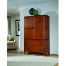 View Product - American Craftsman  Armoire