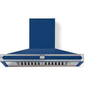 Lacornue Cornufe - Royal Blue Cornufe 110 Hood with Satin Chrome Accents