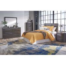 Steelson - Gray 4 Piece Bedroom Set