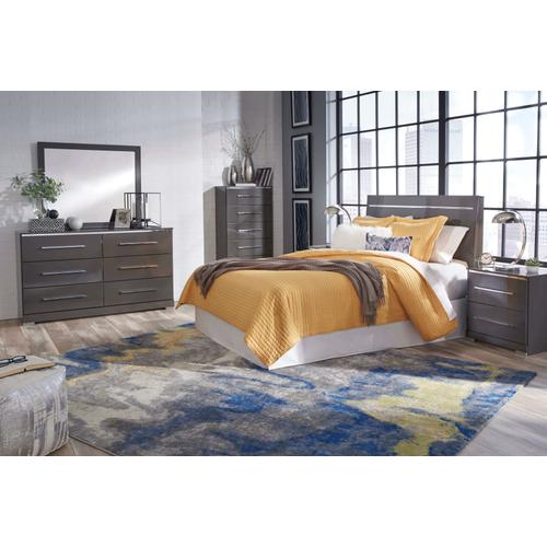Steelson - Gray 4 Piece Bedroom Set