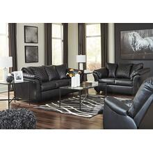 "BETRILLO BLACK 6 PC LIVING ROOM INCLUDES A 50"" SAMSUNG TV"