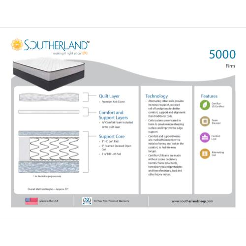 Southerland - 5000 - Firm
