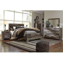View Product - Derekson - Queen Panel Bed, Dresser, Mirror, & 1 X Nightstand