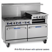 "60"" Gas Range/Griddle Combo"