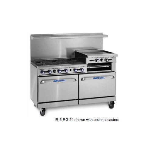 "Product Image - 60"" Gas Range/Griddle Combo"