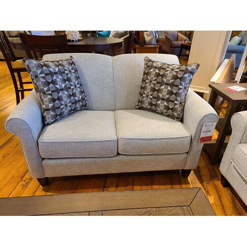 CLEARANCE Embark Grey Loveseat