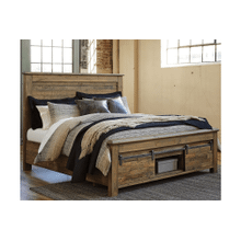 Sommerford - Brown  California King Panel Bed with Storage