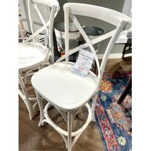 See Details - Saloon Island Counter Stool in White