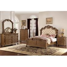4Pc Cal King Bed Set