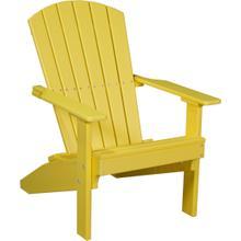 Lakeside Adirondack Chair Yellow