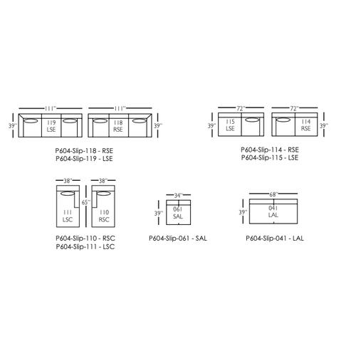 Rowe Furniture - Premium Collection - Bradford Sectional Sofa