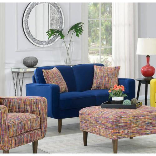 Emerald Home Furnishings - Midcentury Modern Loveseat