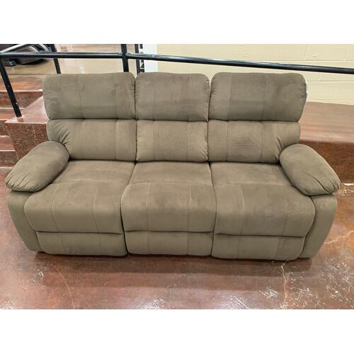 Klaussner - Tan Fabric Sofa