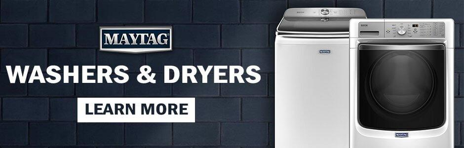 Maytag laundry washer and dryer