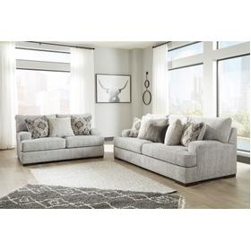 Mercado Sofa & Loveseat Pewter