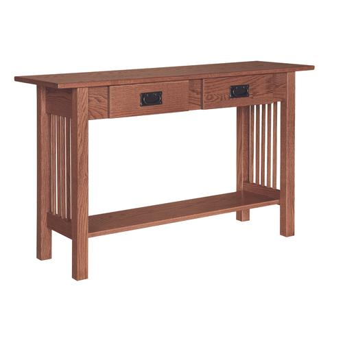Country Value Woodworks - Mission 2 Drawer Sofa Table
