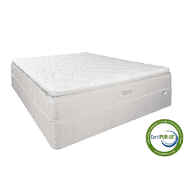 Clearance - Davis Pillow Top Twin - Sanitized