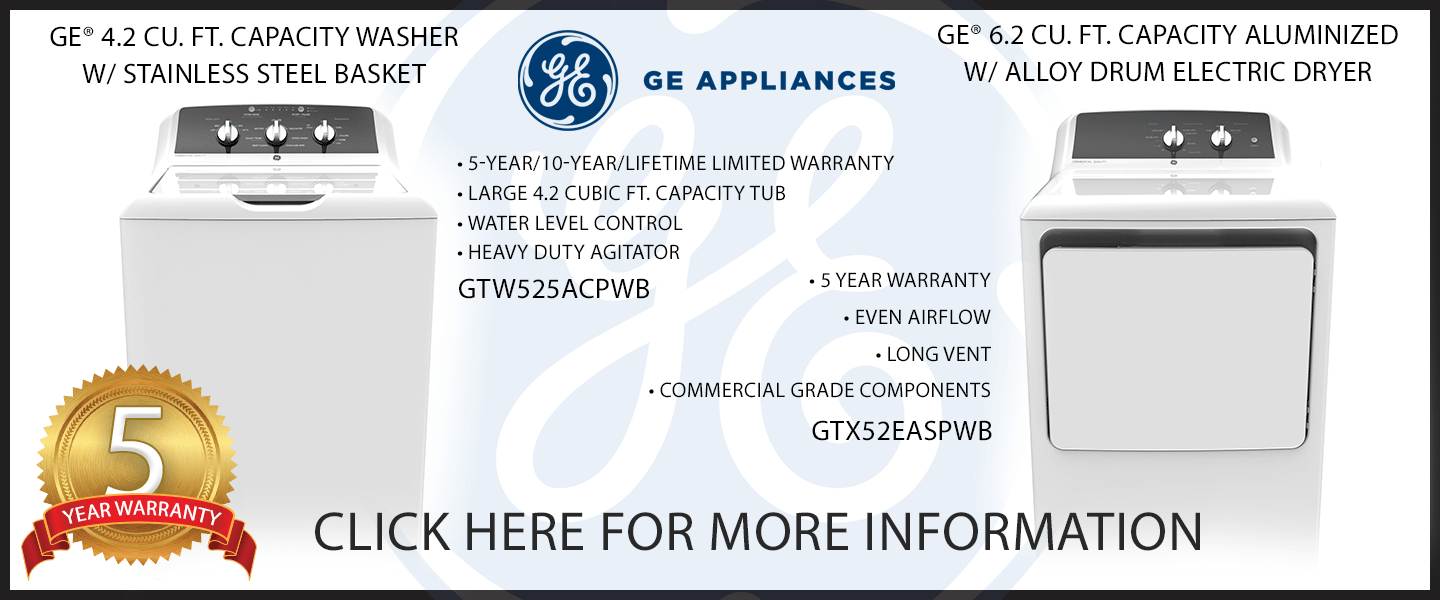 GE Commercial Laundry Savings