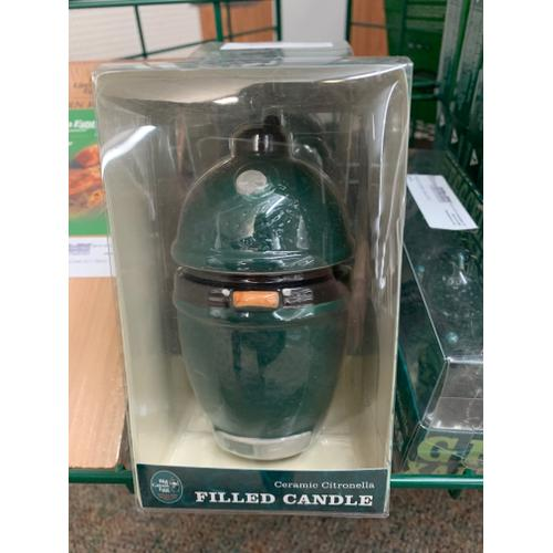 Big Green Egg Filled Candle