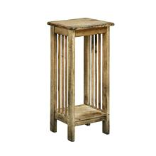 Mission Antiqued Plant Stand