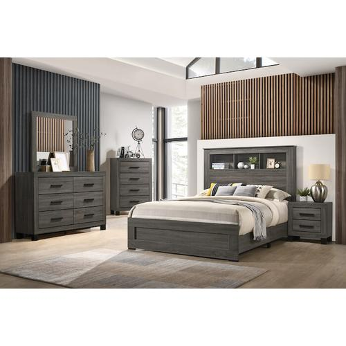 Lifestyle - Queen Footboard & Side rail set