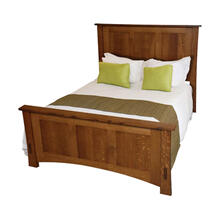 Dutch County Missions Panel Bed