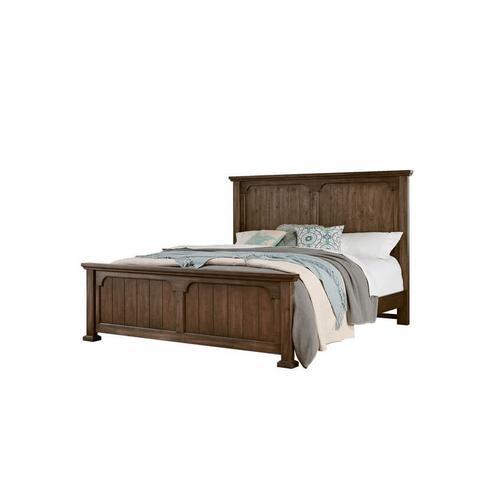 CLEARANCE Grayson Manor Queen Bedroom Set - Latte Cherry