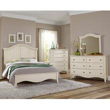 See Details - Vaughn-Bassett Casual Retreat 4 Pc. Bedroom Set - Shell White