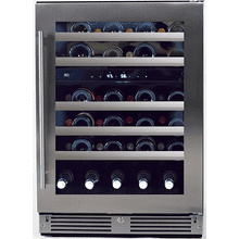 "See Details - Wine Cellar 2 Zone 24"" SS Glass RH"