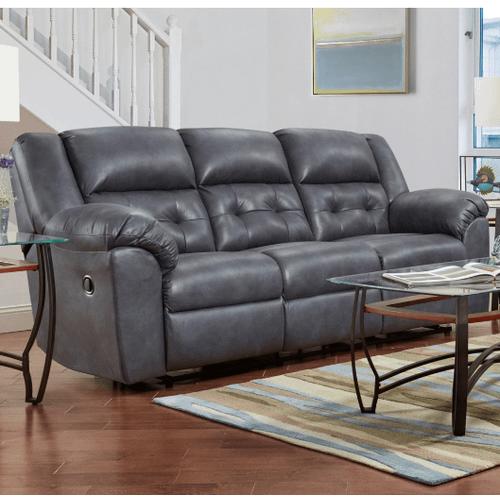 Affordable Furniture Manufacturing - Telluride Reclining Sofa in Indigo         (1503,29006)