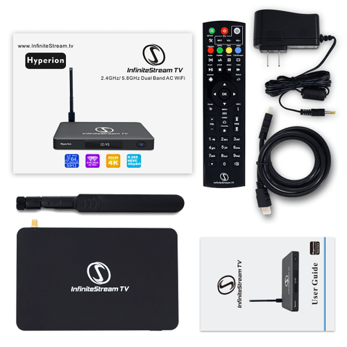 InfiniteStream Hyperion Ultra HD Streaming Box