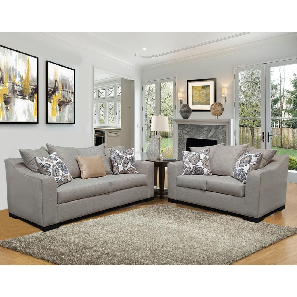 Mackie Sofa and Love Seat
