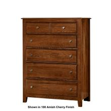 Artisan & Post 5-Drawer Loft Chest in Rustic Cherry Finish
