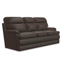 MILES LEATHER SOFA  in Walnut      (617-692-LB178178,29076)