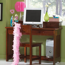 Merlot Student Desk/Hutch